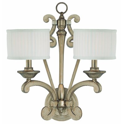 Savoy House Highcroft 2 Light Wall Sconce