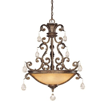 Savoy House Chastain 5 Light Inverted Pendant
