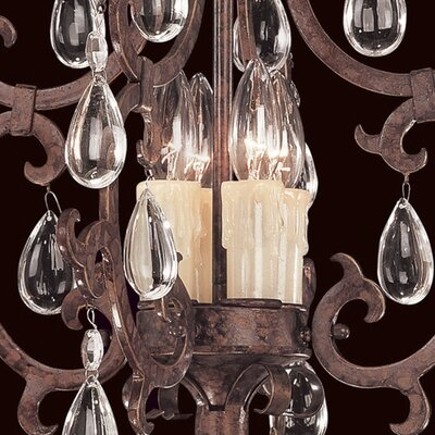 Savoy House Provenciale 4 Light Mini Chandelier