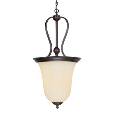 Savoy House Vanguard 3 Light Inverted Pendant