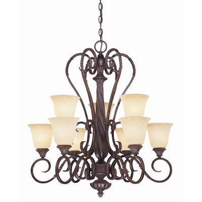 Wildon Home ® Bellingham 9 Light Chandelier