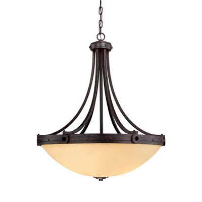 Elba 4 Light Inverted Pendant