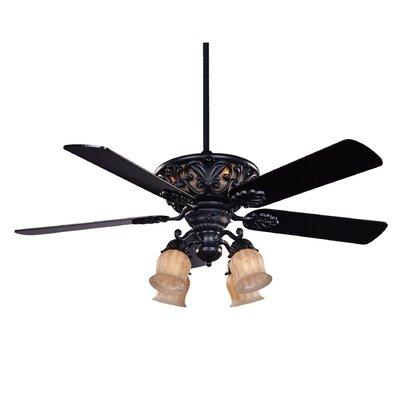 "Savoy House 52"" The Monarch 5 Blade Ceiling Fan with Remote"