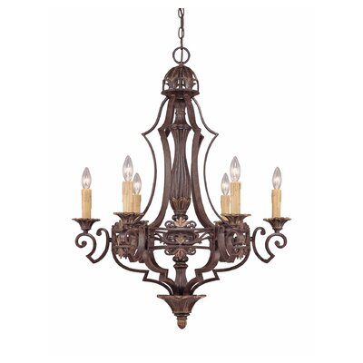 Savoy House Southerby 6 Light Chandelier