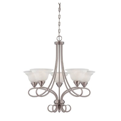 Savoy House Polar 5 Light Chandelier