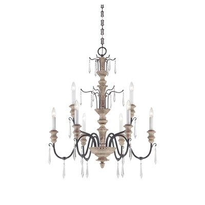 Savoy House Madeliane 9 Light Chandelier