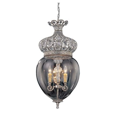 Savoy House 3 Light Foyer Pendant