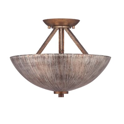 Savoy House Sonata 2 Light Semi Flush Mount