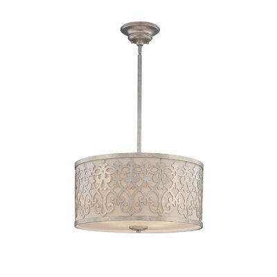 Wildon Home ® 5 Light Drum Pendant