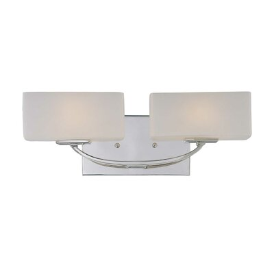 Wildon Home ® Evans 2 Light Bath Vanity Light