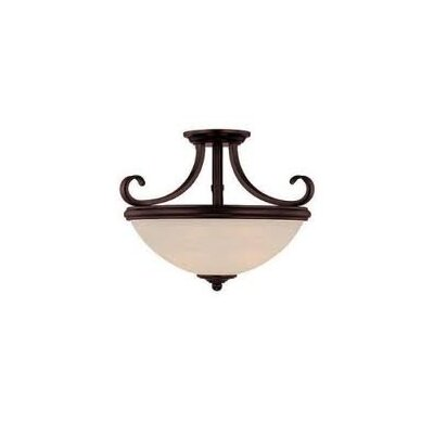 Savoy House Willoughby 2 Light Semi Flush Mount