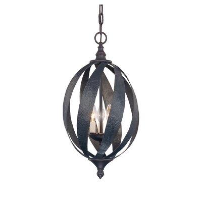 Wildon Home ® Ruby 3 Light Open Foyer Pendant