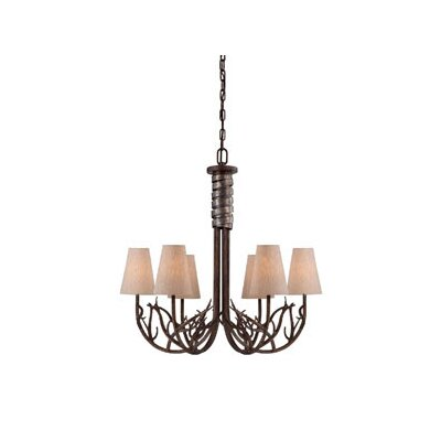 Brambles 6 Light Chandelier