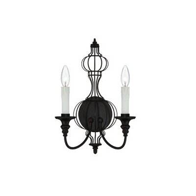 Savoy House Abagail 2 Light Wall Sconce