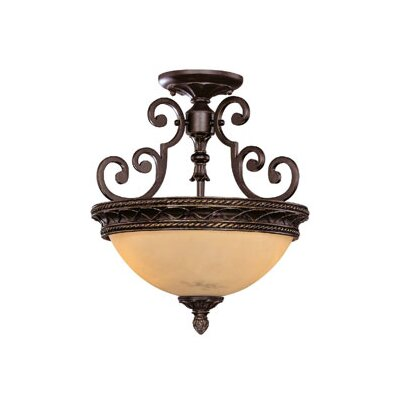 Savoy House Knight 2 Light Semi Flush Mount