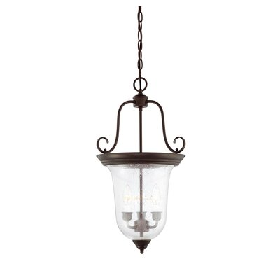 Entry Lanterns 3 Light Foyer Pendant