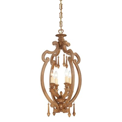 Savoy House Bellemeade 4 Light Foyer Pendant