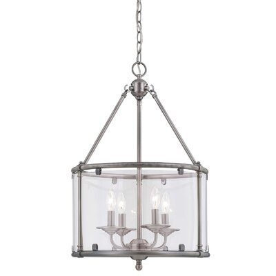 Foxcroft 4 Light Foyer Pendant