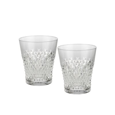 Alana Essence Double Old Fashion Glass (Set of 2)