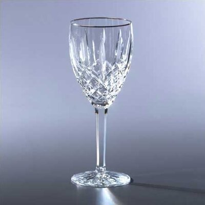 Araglin Platinum Stemware 6 oz White Wine Glass
