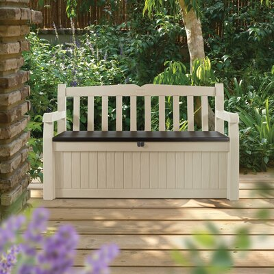 Keter Eden 70 Gallon Resin Garden Bench Box