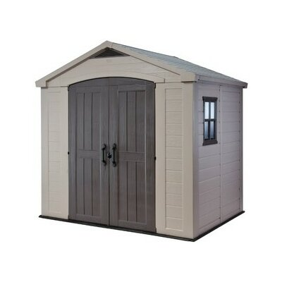 Keter Factor 8x6 Resin Shed