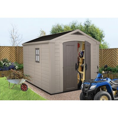 Keter Factor 8x11 Resin Shed