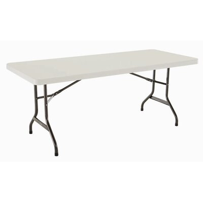 "Lifetime 72"" Rectangular Folding Table"