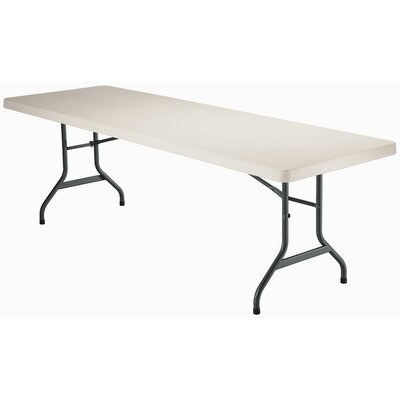 "Lifetime 96"" Rectangular Folding Table"