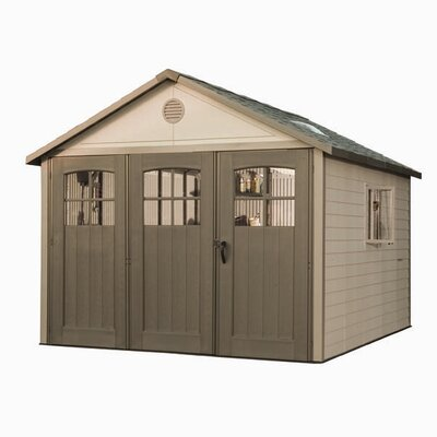 Lifetime 11' W x 11' D Plastic Storage Shed