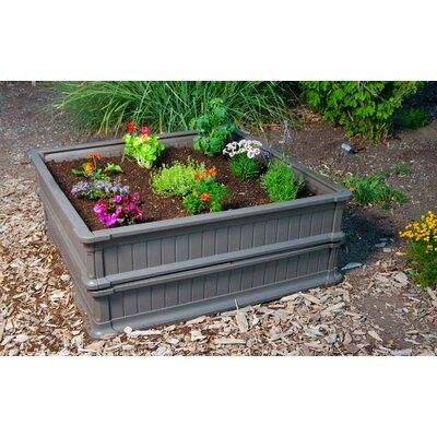 lifetime 4 39 x 4 39 stackable raised garden bed kit reviews