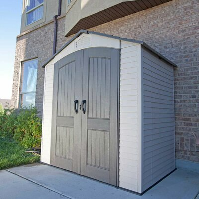 Lifetime Plastic Storage Shed