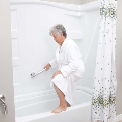 Lifetime Grabcessories 2-in-1 Traditional Curved Grab Bar