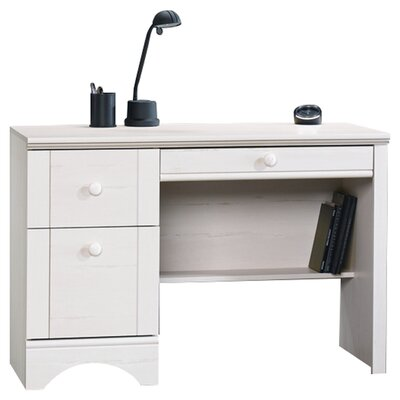 Sauder Harbor View Computer Desk in Antique White