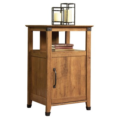 Sauder Registry Row Technology Pier in Amber Pine