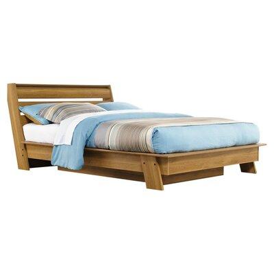 sauder soft modern queen platform bed frame reviews wayfair