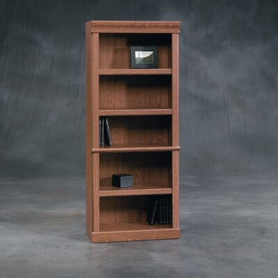 Sauder Orchard Hills Library Bookcase in Carolina Oak