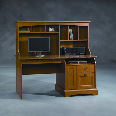 Sauder Graham Hill Computer Desk with Hutch
