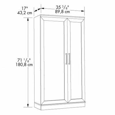 """Sauder HomePlus 35.4"""" Storage Cabinet"""