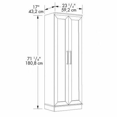 """Sauder HomePlus 23.3"""" Storage Cabinet"""