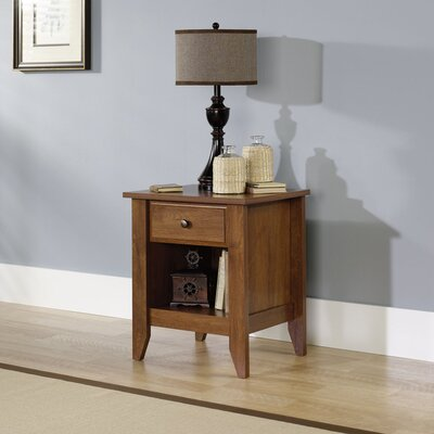 Sauder Shoal Creek 1 Drawer Nightstand