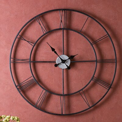 Wildon Home ® Frost Decorative Wall Clock