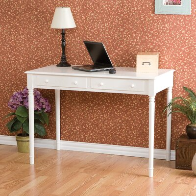 Hull Crisp White 2-Drawer Writing Desk