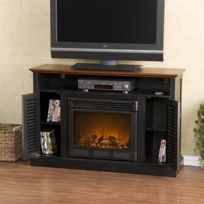 "Wildon Home ® Fox 48"" TV Stand with Electric Fireplace"
