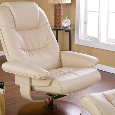 Wildon Home ® Urban Leather Ergonomic Recliner