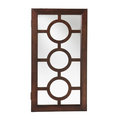 Wildon Home ® Elizabeth Wall Mount Jewelry Mirror