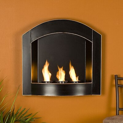 Wildon Home ® Arch Wall Mounted Gel Fuel Fireplace