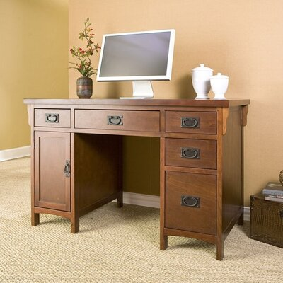 Wildon Home ® Collins Mission Computer Desk