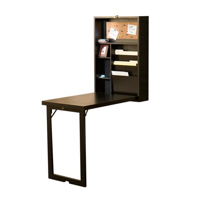 Wildon Home ® Frank Fold-Out Convertible Writing Desk