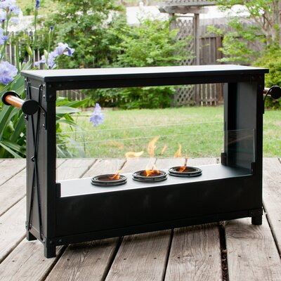 Wildon Home ® Bissette Gel Fuel Fireplace